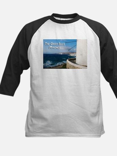 The Greek Isles - Mykonos Greece Baseball Jersey