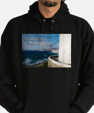 The Greek Isles - Mykonos Greece Hoodie