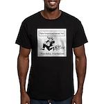 New American Journal Flag Men's Fitted T-Shirt (da