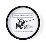 New American Journal Flag Wall Clock