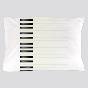 Piano Key Background Pillow Case