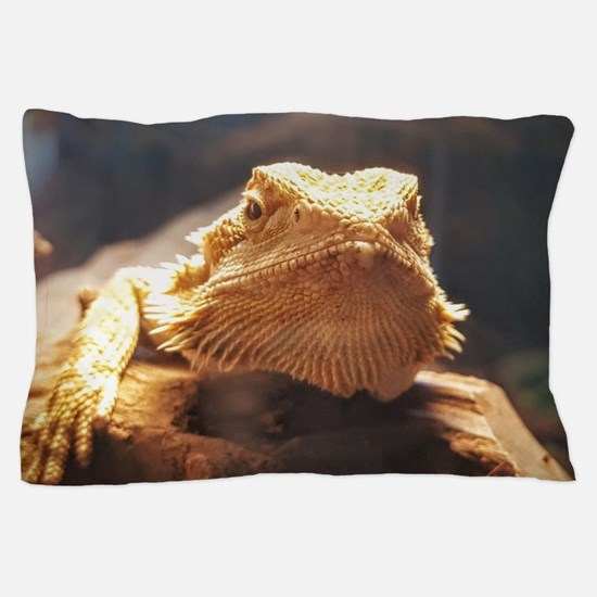 Cute Bearded dragon Pillow Case