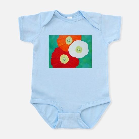 Three Poppies Body Suit
