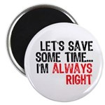 Save Time Magnet