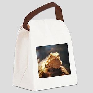 beardie Canvas Lunch Bag