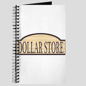 Wooden Dollar Store Sign Journal