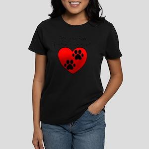 Paw Print Hear T-Shirt