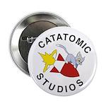 """Catatomic Studios Bomb Cat 2.25"""" Button (100"""