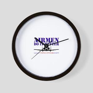 Airmen Do It Better Wall Clock