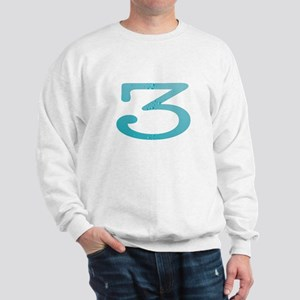Water Numbers Sweatshirt