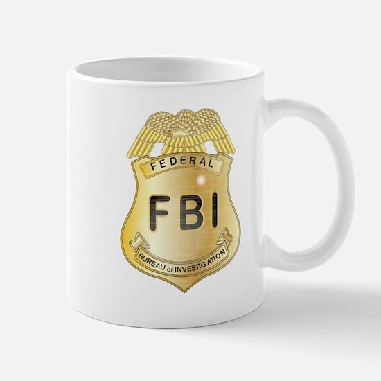 FBI Badge Mugs