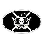P&P RPG Crest! Oval Sticker