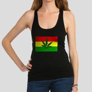 Rastafarian Flag Racerback Tank Top