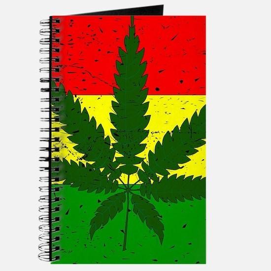 Rastafarian Flag Journal