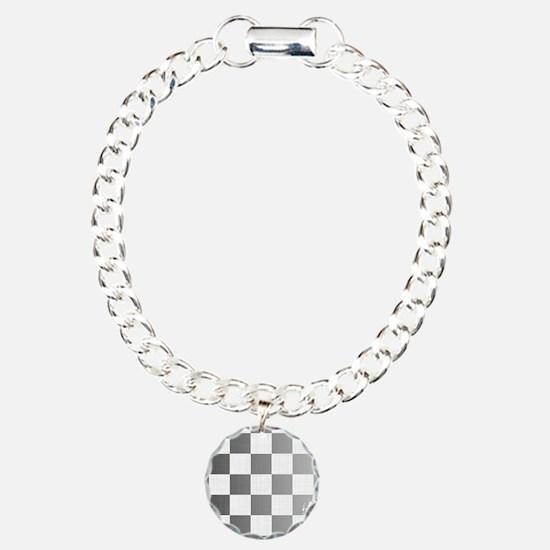 Chequered Flag Grunge Bracelet