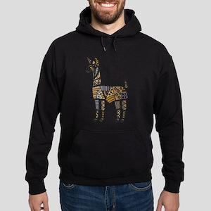 Llama Art Hoodie (dark)