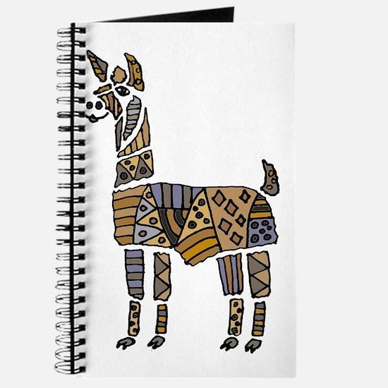 Llama Art Journal