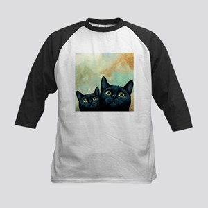 Cat 607 black Cats Baseball Jersey