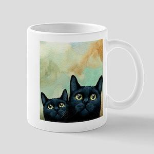 Cat 607 black Cats Mugs