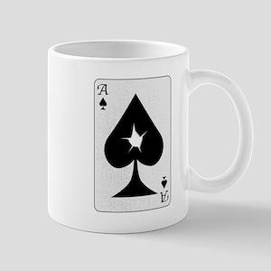 Playing Card Bullet Hole Mugs