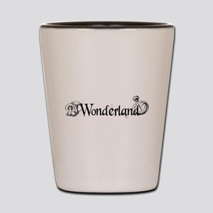 Wonderland Shot Glass