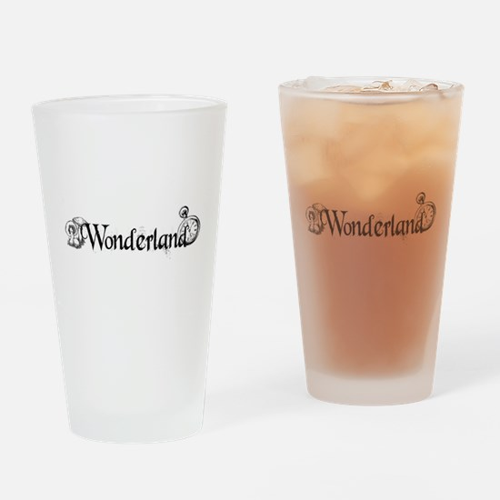 Wonderland Drinking Glass