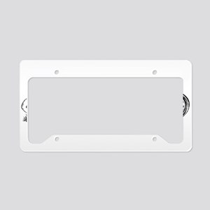 Wonderland License Plate Holder