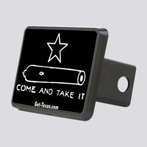 Texas Flag - Come and Take Rectangular Hitch Cover