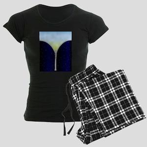 Sky Zipper Women's Dark Pajamas