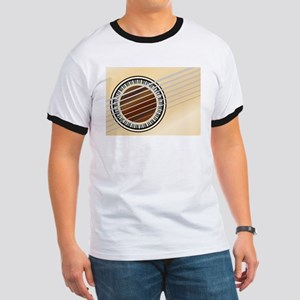 Guitar Piano Soundhole T-Shirt