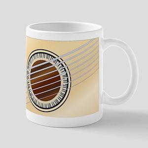 Guitar Piano Soundhole Mugs