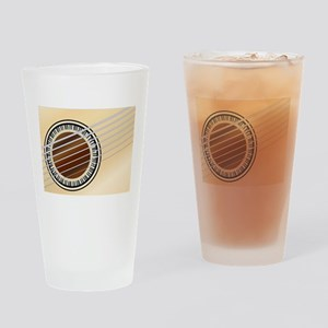 Guitar Piano Soundhole Drinking Glass