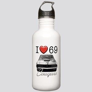 69 Cougar Stainless Water Bottle 1.0L