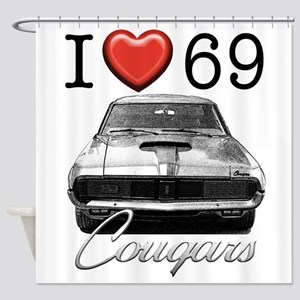 69 Cougar Shower Curtain