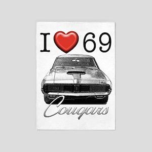 69 Cougar 5'x7'Area Rug