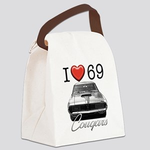 69 Cougar Canvas Lunch Bag