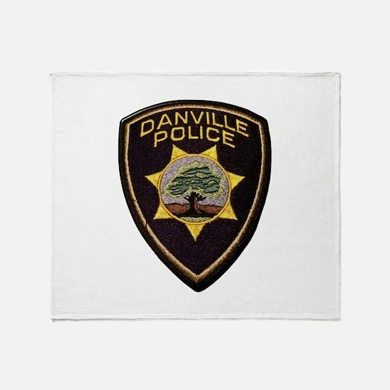Danville Police Throw Blanket