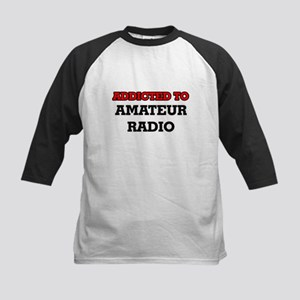 Addicted to Amateur Radio Baseball Jersey