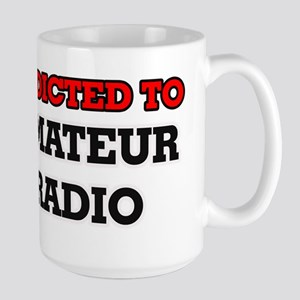 Addicted to Amateur Radio Mugs