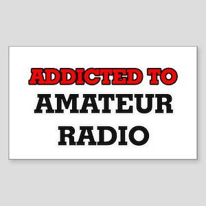 Addicted to Amateur Radio Sticker
