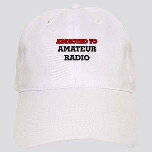 Addicted to Amateur Radio Cap
