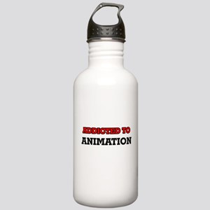 Addicted to Animation Stainless Water Bottle 1.0L