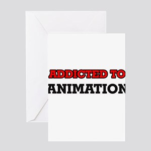 Addicted to Animation Greeting Cards