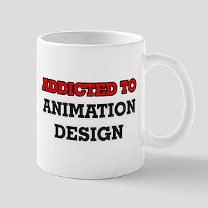 Addicted to Animation Design Mugs
