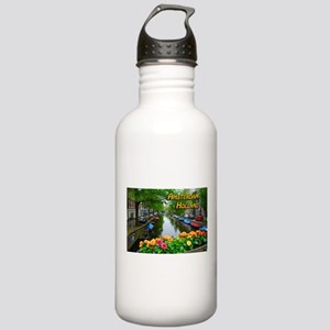 Amsterdam Holland Travel Water Bottle
