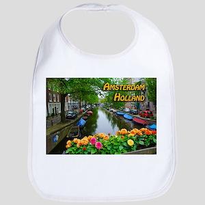 Amsterdam Holland Travel Bib