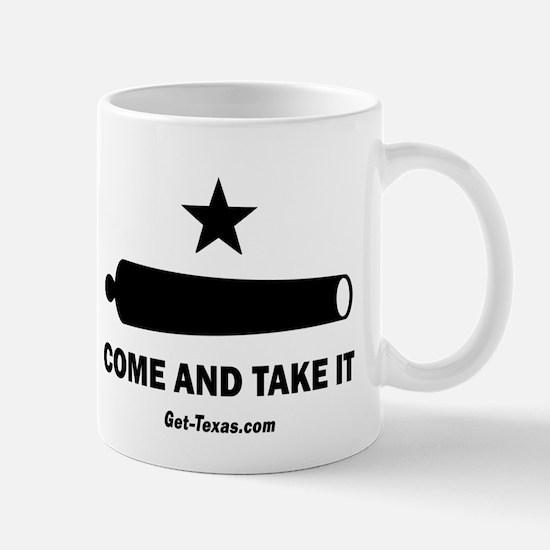 Texas Come and Take IT Flag Mugs