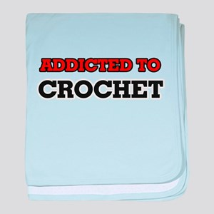 Addicted to Crochet baby blanket