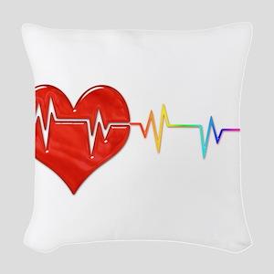 Pulse Woven Throw Pillow