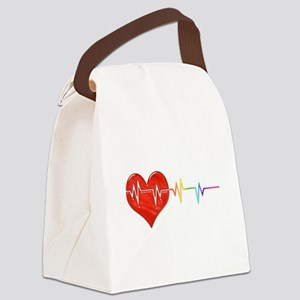 Pulse Canvas Lunch Bag